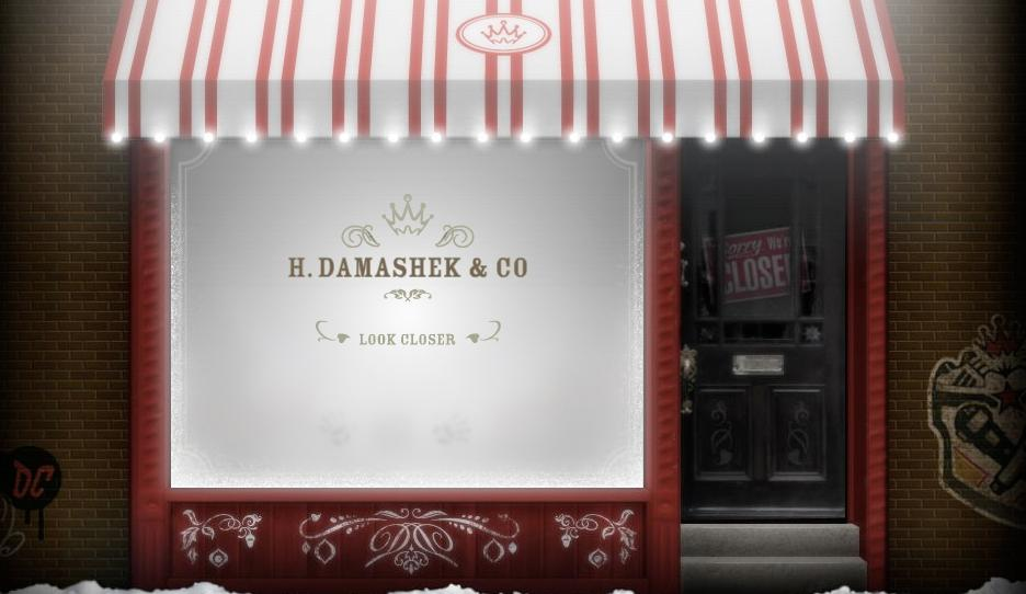 Damashek Digital Ad -  Fantastic Curios & Wondrous Whatnots