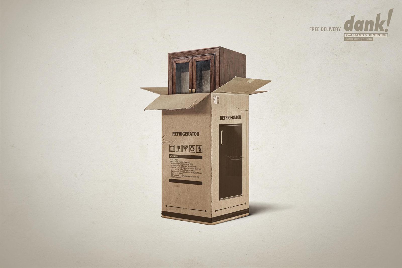 Dank! Print Ad -  Cupboard