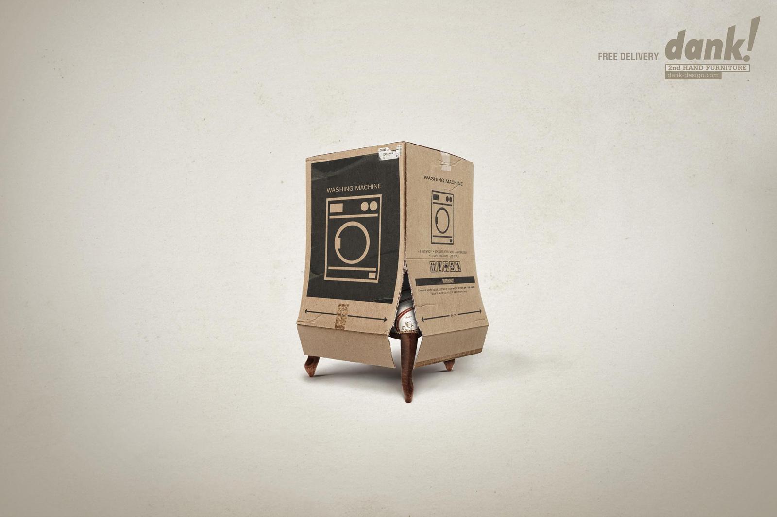 Dank! Print Ad -  Chair
