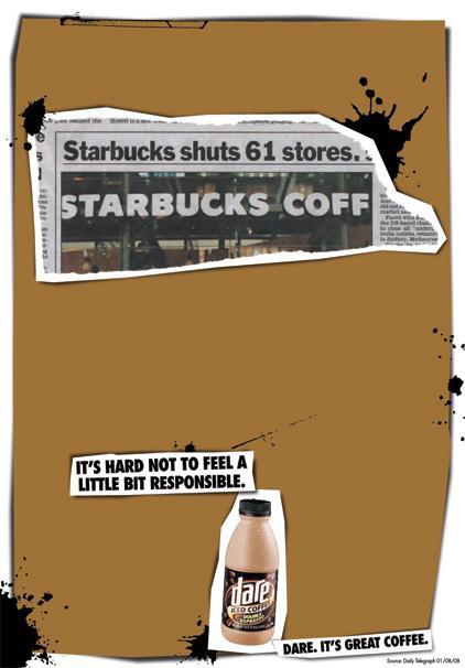 Dare Print Ad -  Responsible