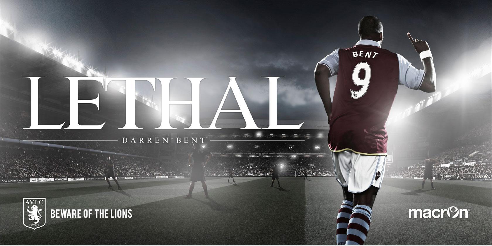 Aston Villa FC Outdoor Ad -  Beware Of The Lions, 3