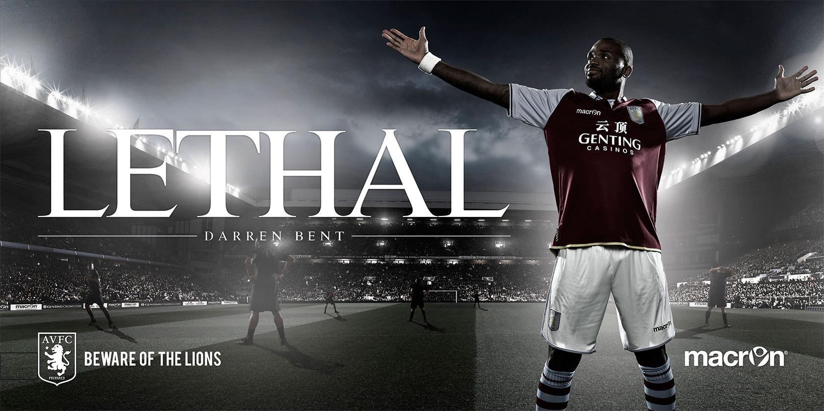 Aston Villa FC Outdoor Ad -  Beware Of The Lions, 4