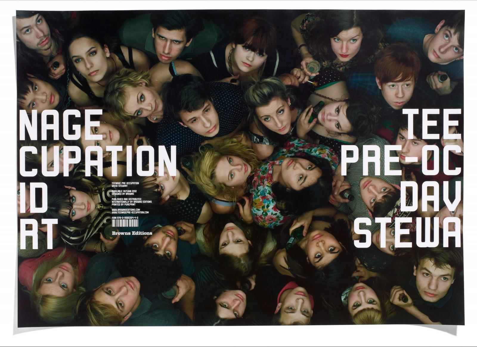 David Stewart Print Ad -  Teenage Pre-occupation, 1