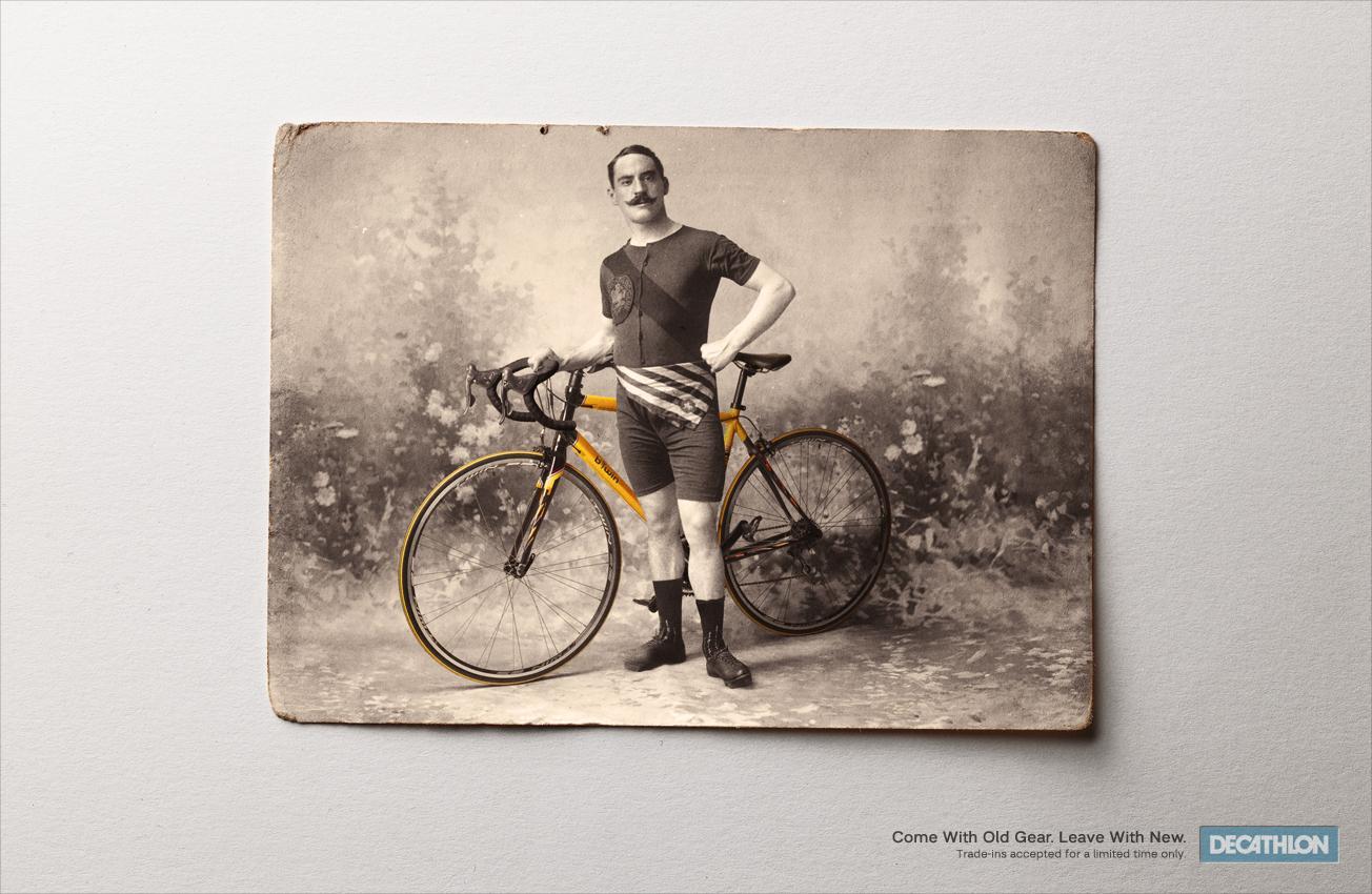 Decathlon Print Ad -  Bike