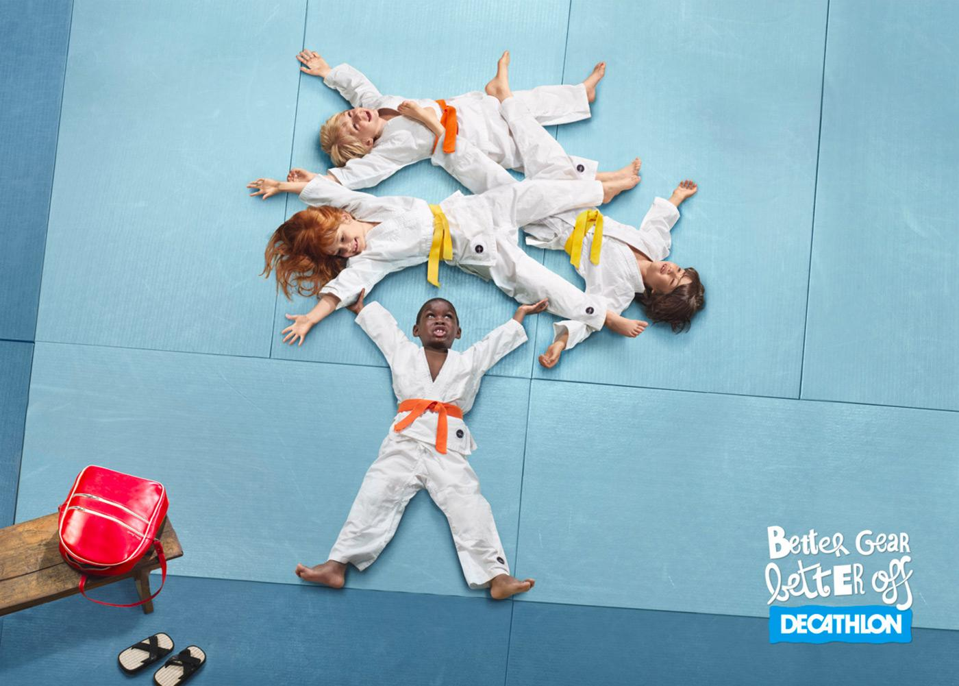 Decathlon Print Ad -  Better gear, 2