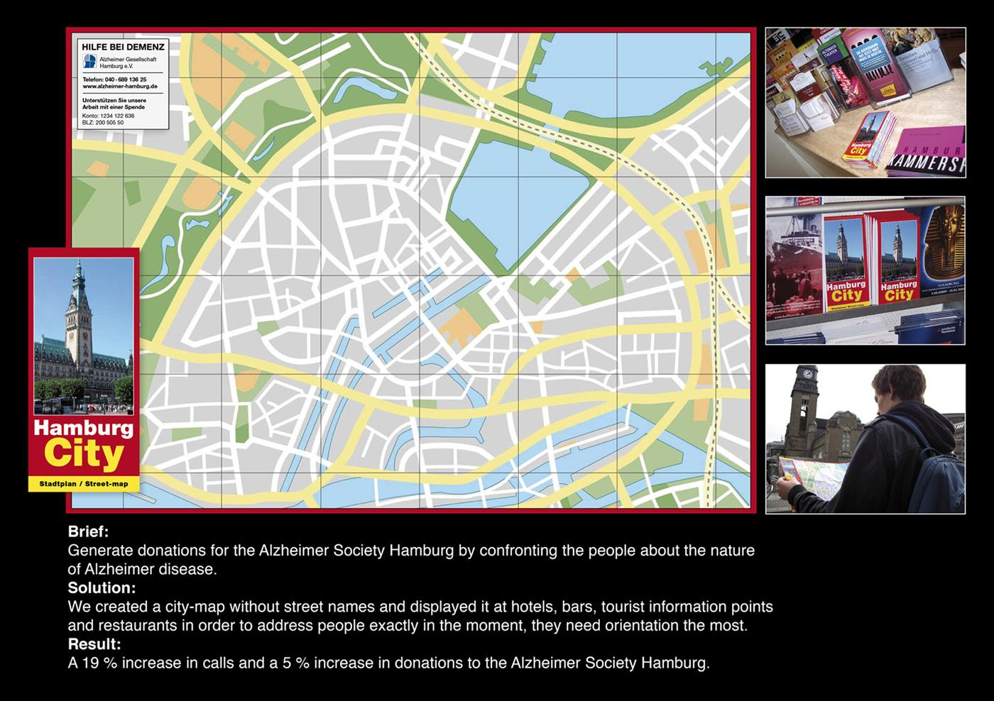Alzheimer's Society Direct Ad -  City map