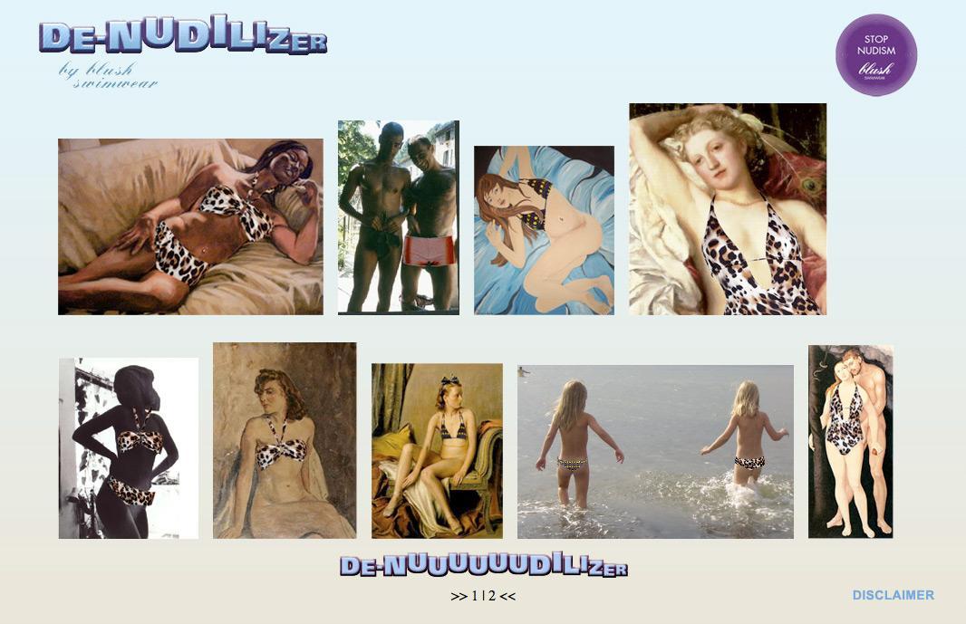 Blush Digital Ad -  De-Nudilizer