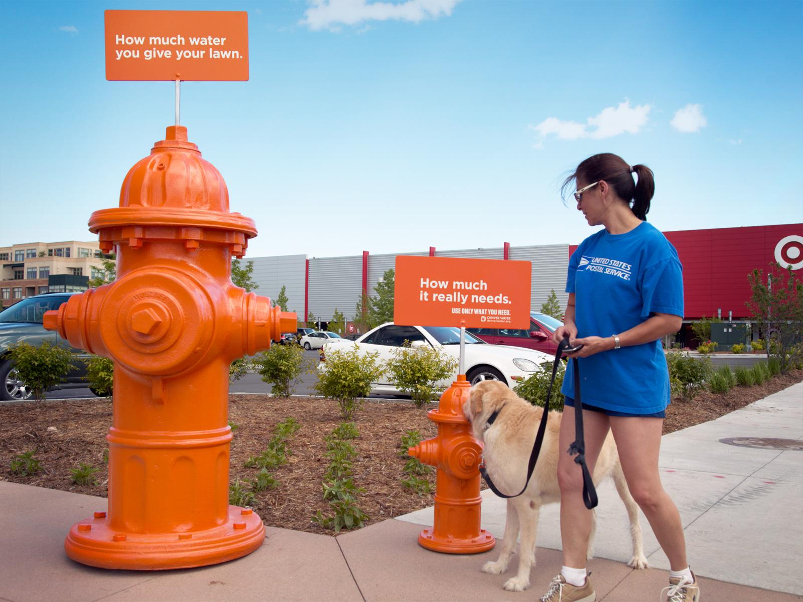 Denver Water Ambient Ad -  Water hydrants