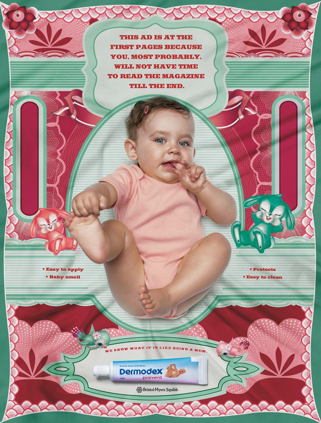 Dermodex Print Ad -  First page