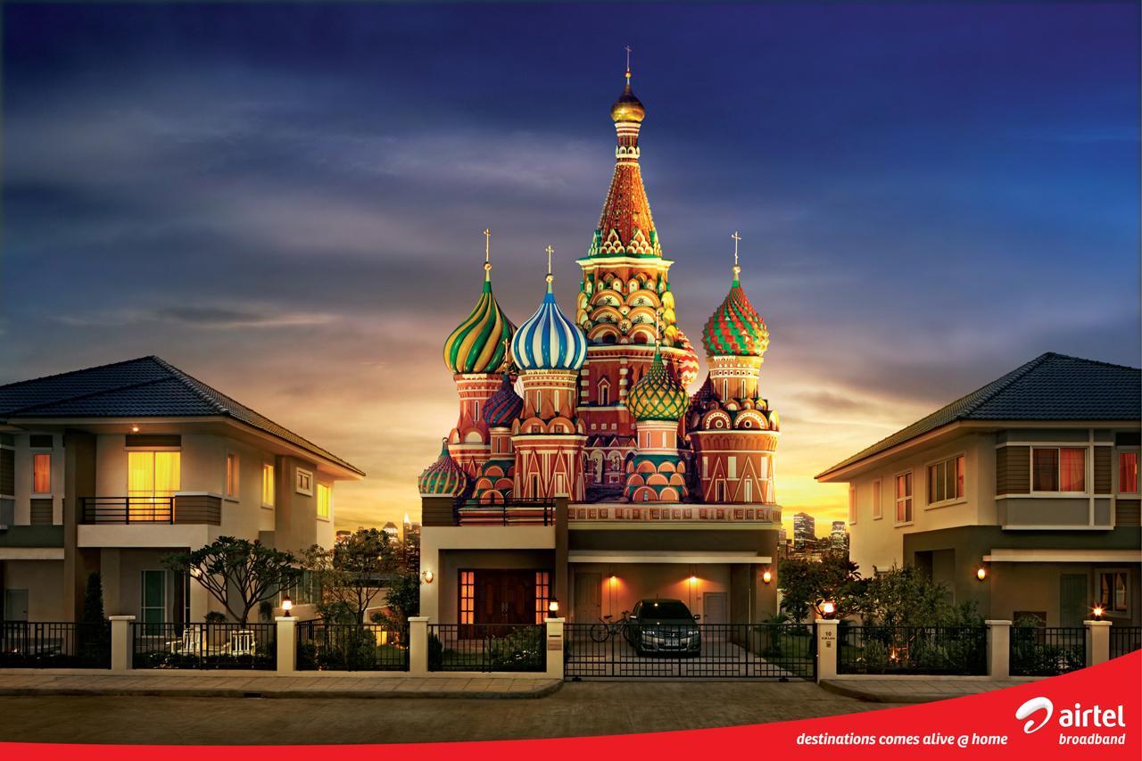 Airtel Print Ad -  Destinations
