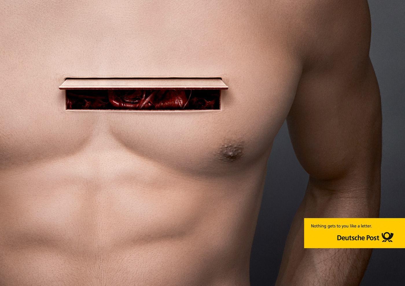 Deutsche Post Print Ad -  Chest box