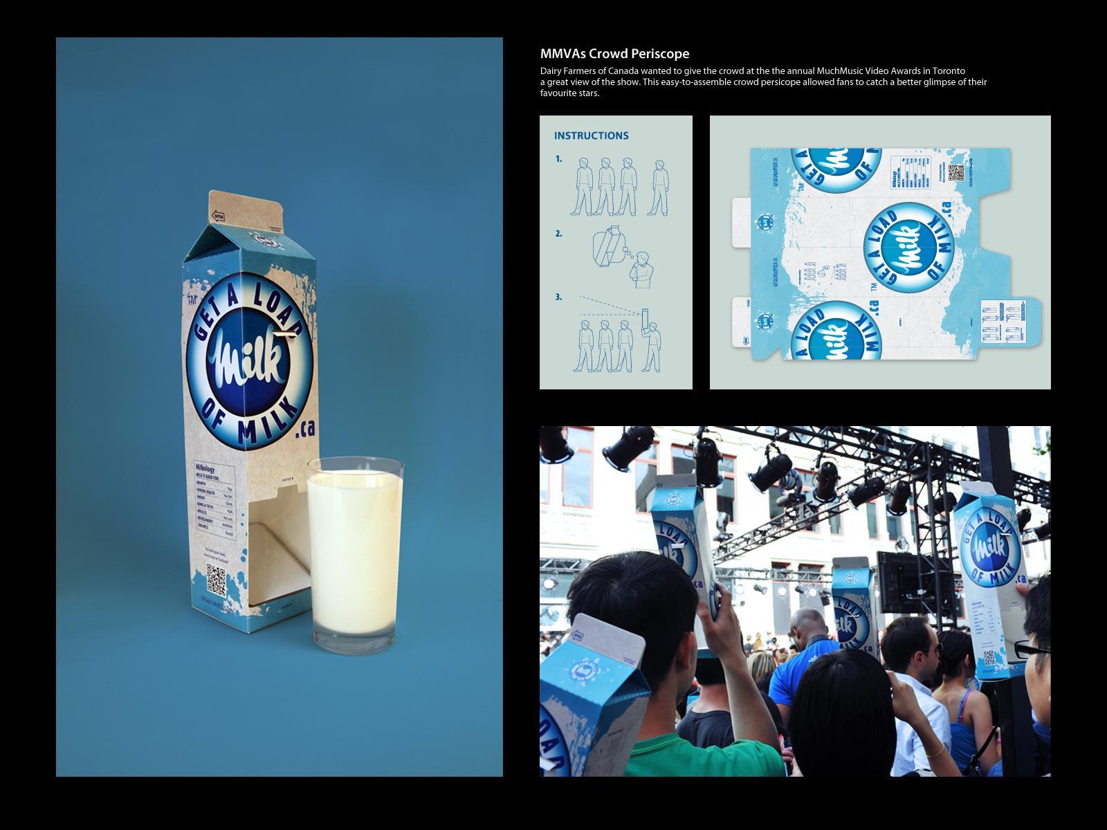 Dairy Farmers of Canada Direct Ad -  MMVAs Crowd Periscope