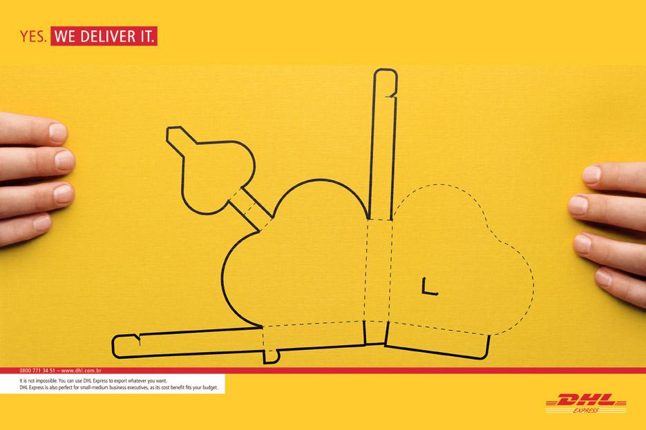 DHL Print Ad -  Yes, 2