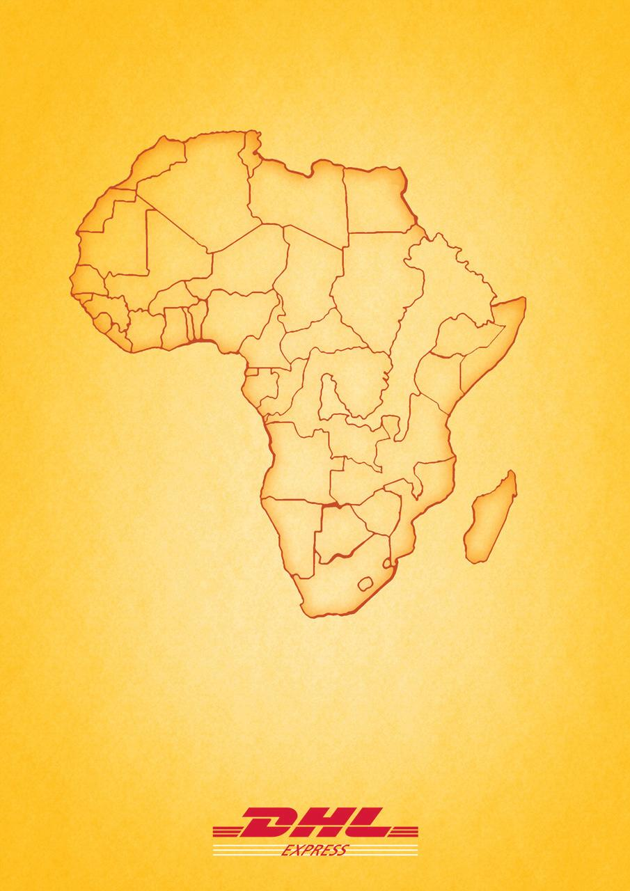 DHL Print Ad -  Africa - Italy