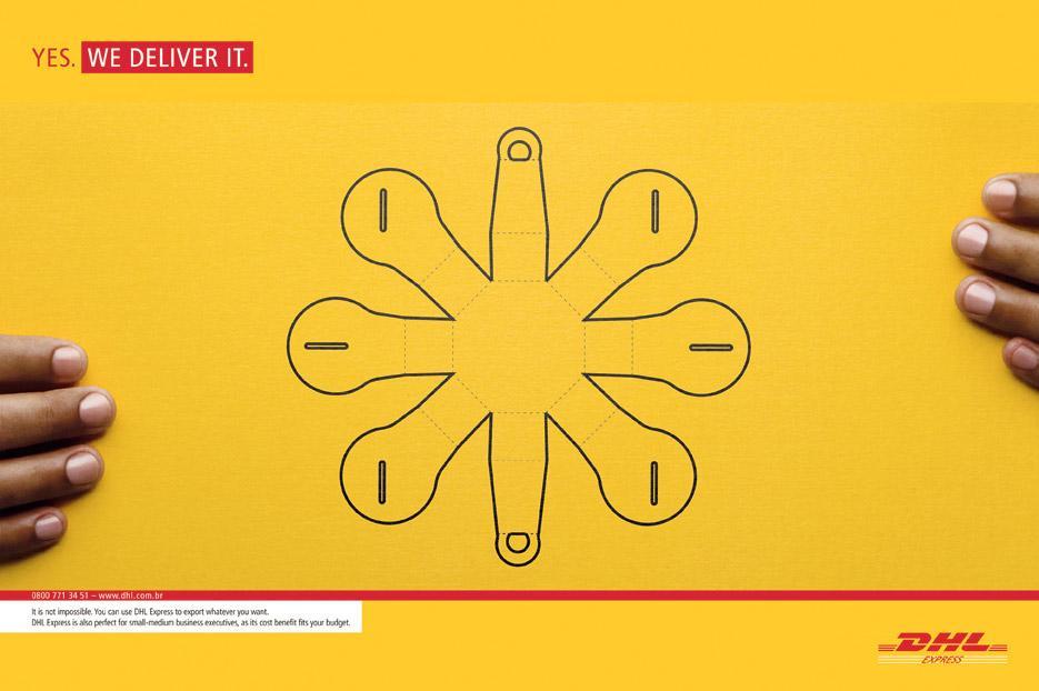 DHL Print Ad -  Yes, 1