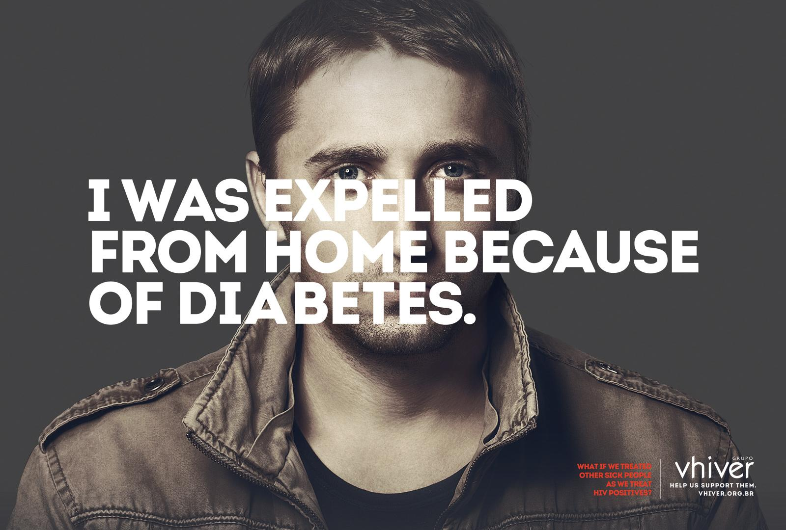 Grupo Vhiver Print Ad -  Diabetes