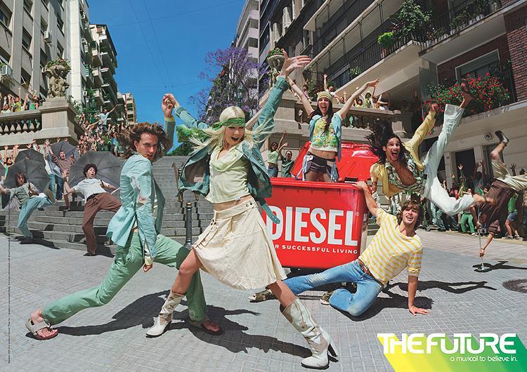 Diesel musical bin