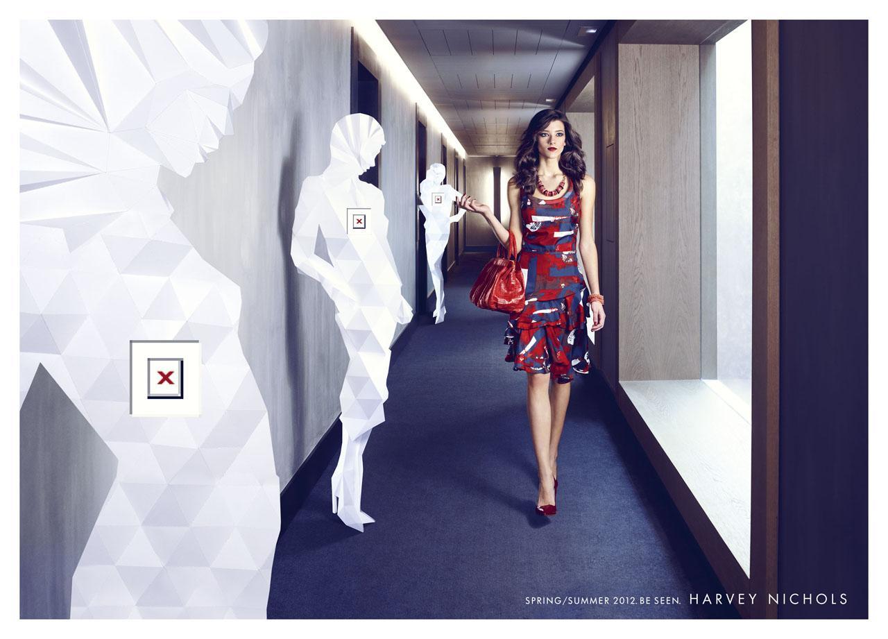 Harvey Nichols Print Ad -  Woman, 1