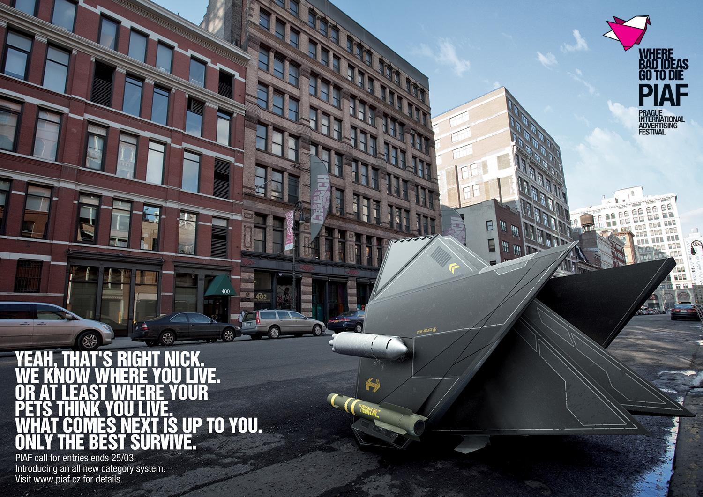 PIAF Direct Ad -  DROGA5 NY