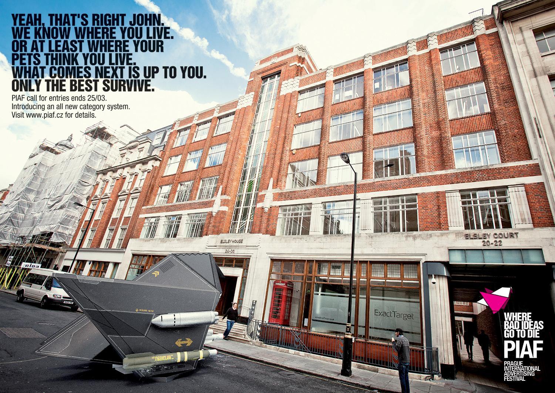 PIAF Direct Ad -  Fallon London