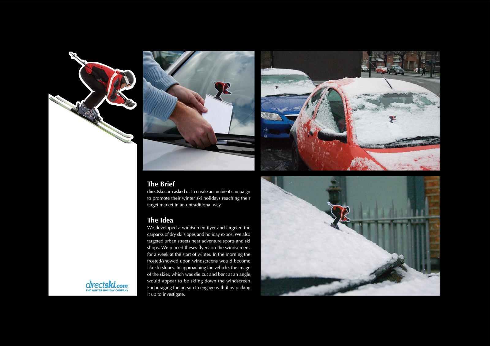 Directski Direct Ad -  Skier