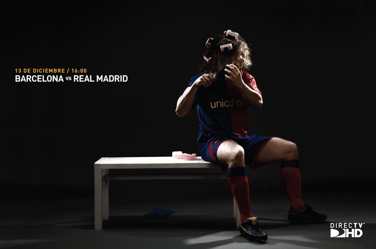 DIRECTV Print Ad -  Barcelona