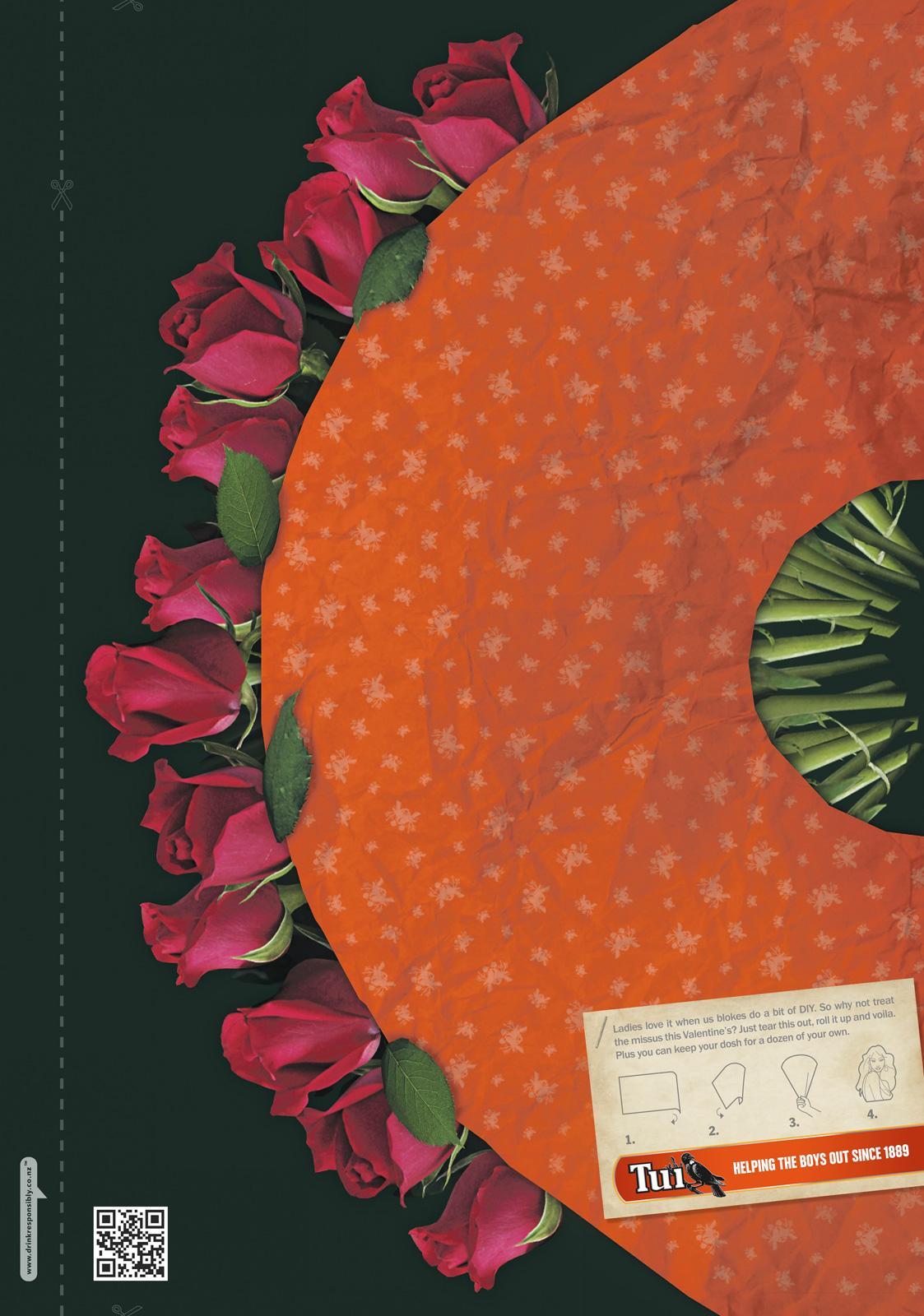 TUI Print Ad -  DIY Roses