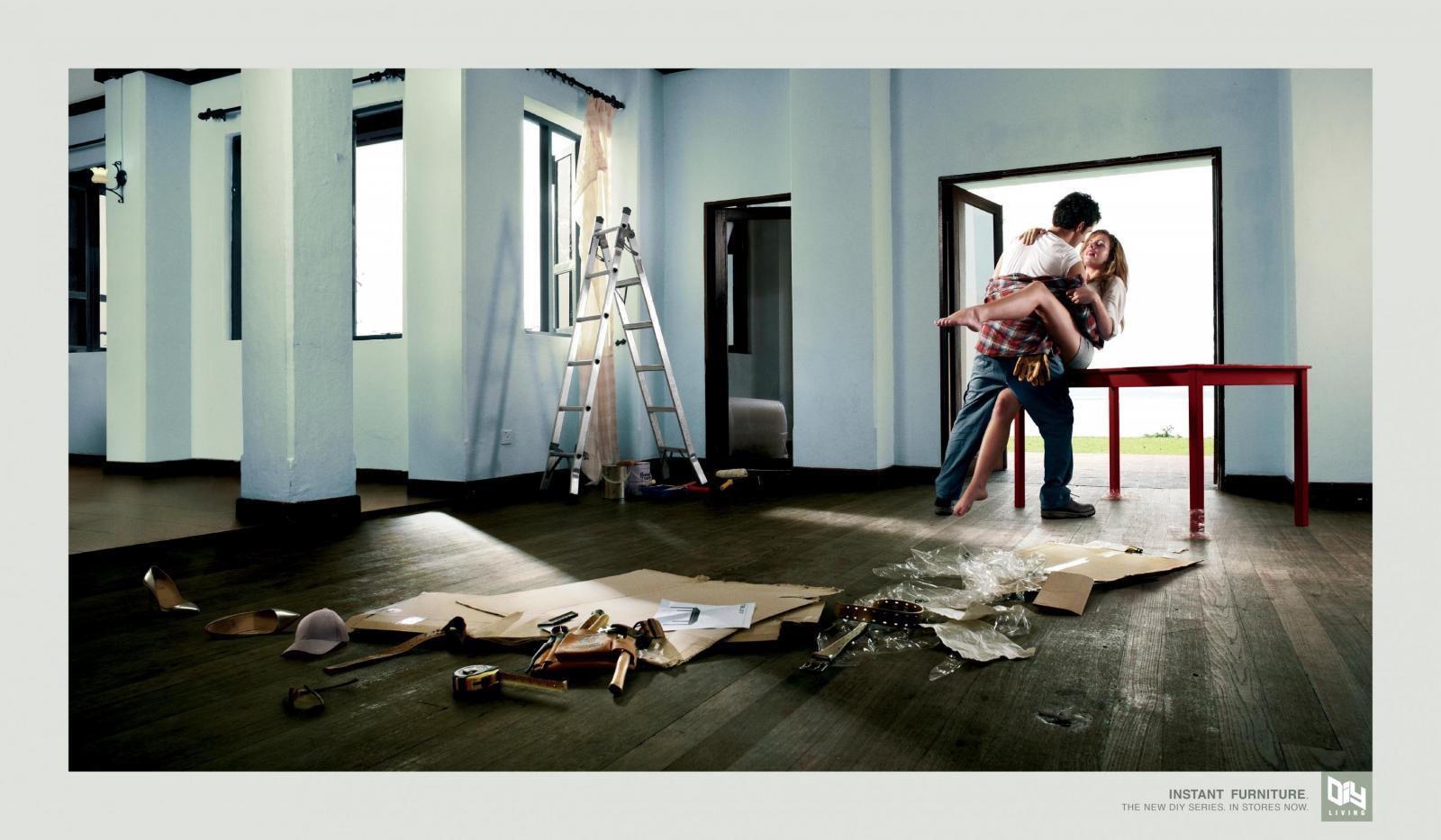DIY Living Print Ad -  Handy Man
