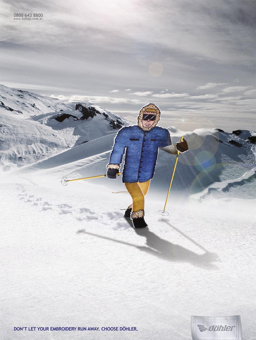 Döhler Print Ad -  Snow