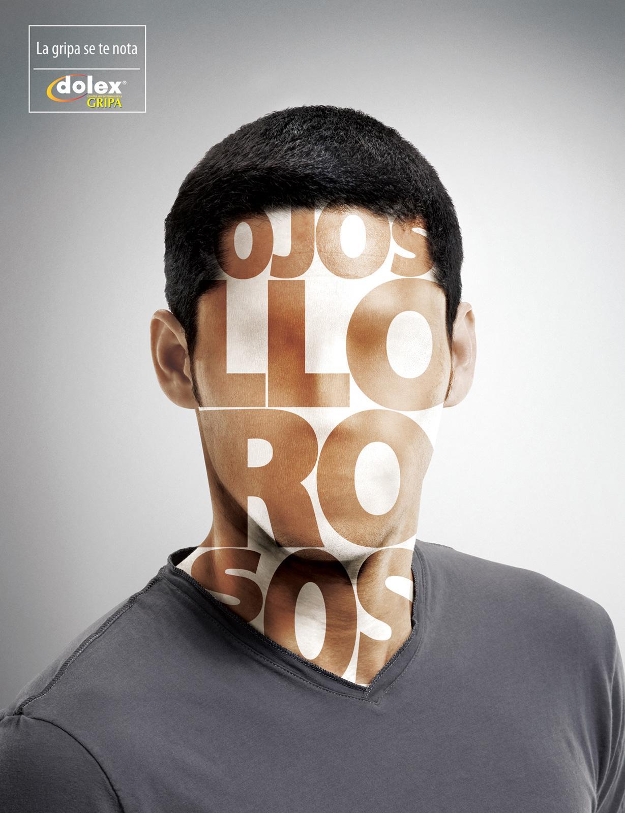Dolex Print Ad -  Flu looks on you, 4