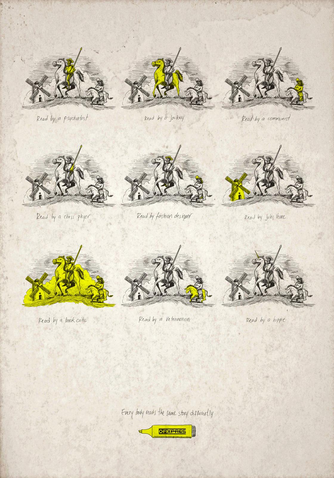 Ofixpres Print Ad -  Don Quijote