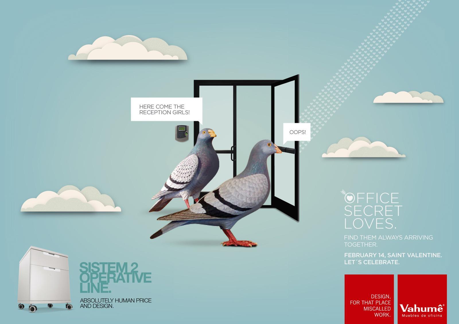 Vahume Print Ad -  Door
