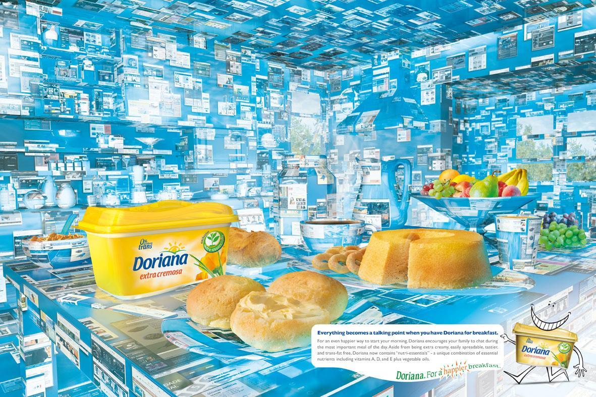 Doriana Print Ad -  Internet