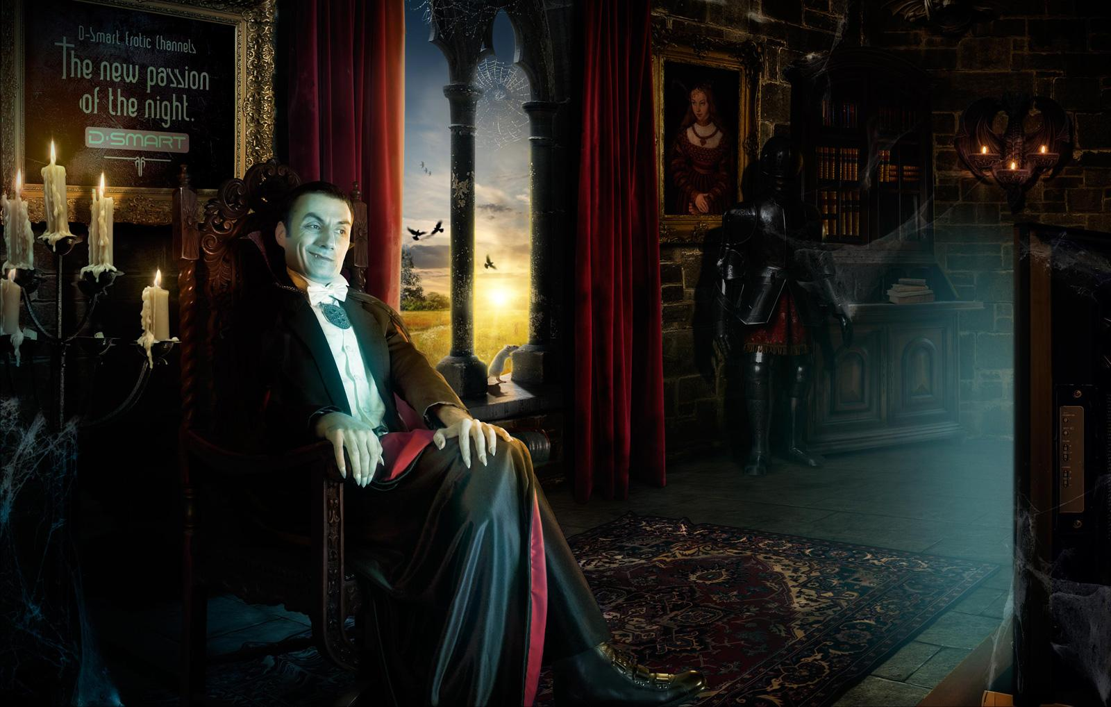D-smart Print Ad -  Dracula