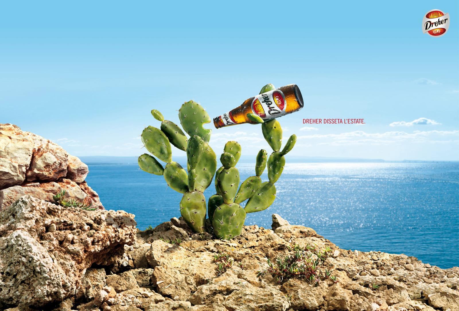 Dreher Print Ad -  Cactus