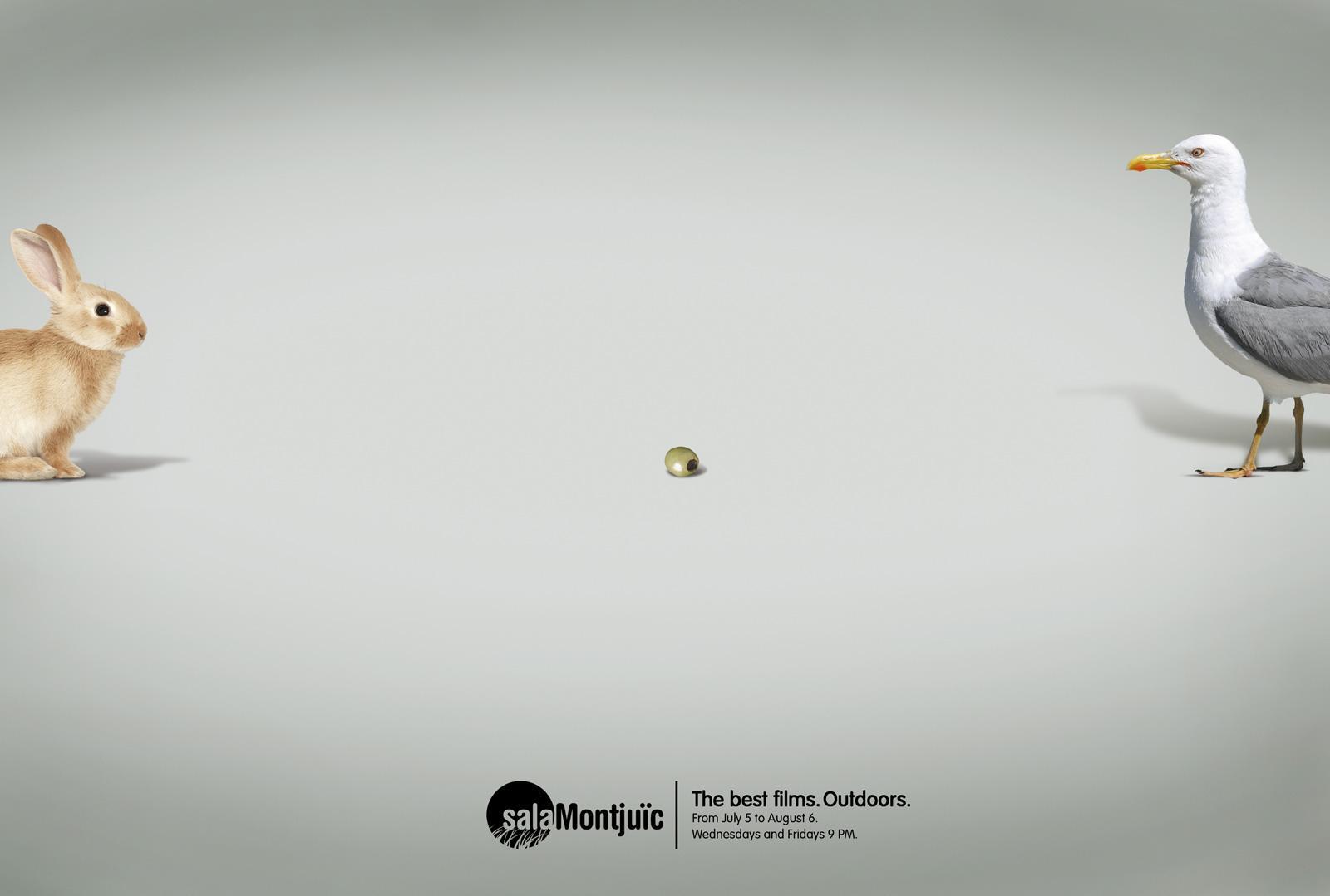 Sala Montjuïc Print Ad -  Olive