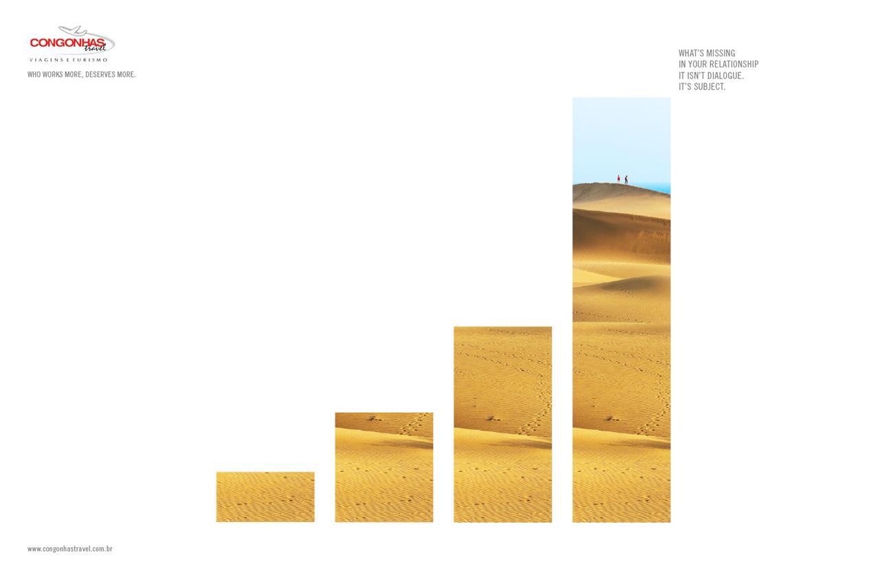 Congonhas Travel Print Ad -  Dunes