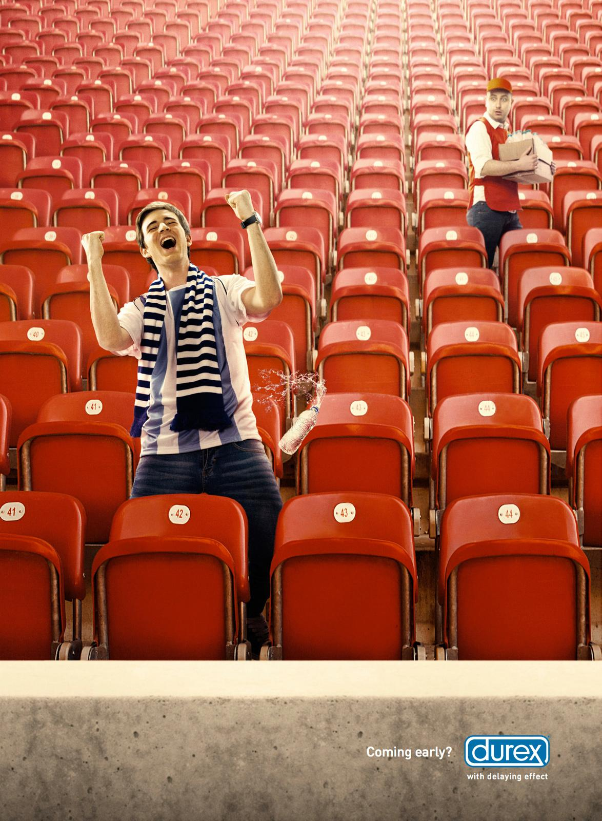 Durex Print Ad -  Stadium