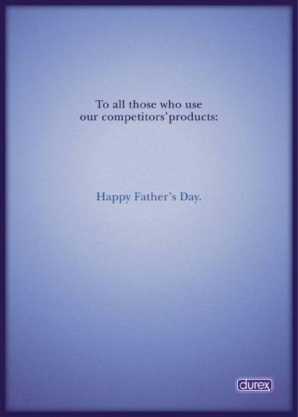 Durex Print Ad -  Father's day