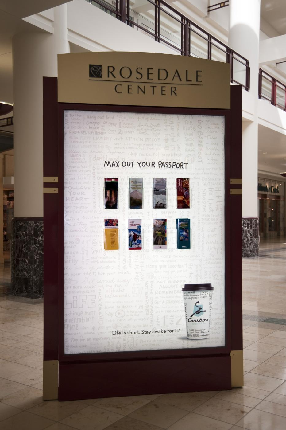 Caribou Coffee Outdoor Ad -  Brochures