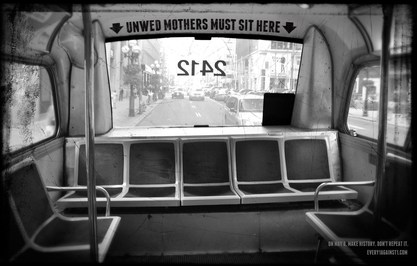 Every1against1.com Print Ad -  Bus