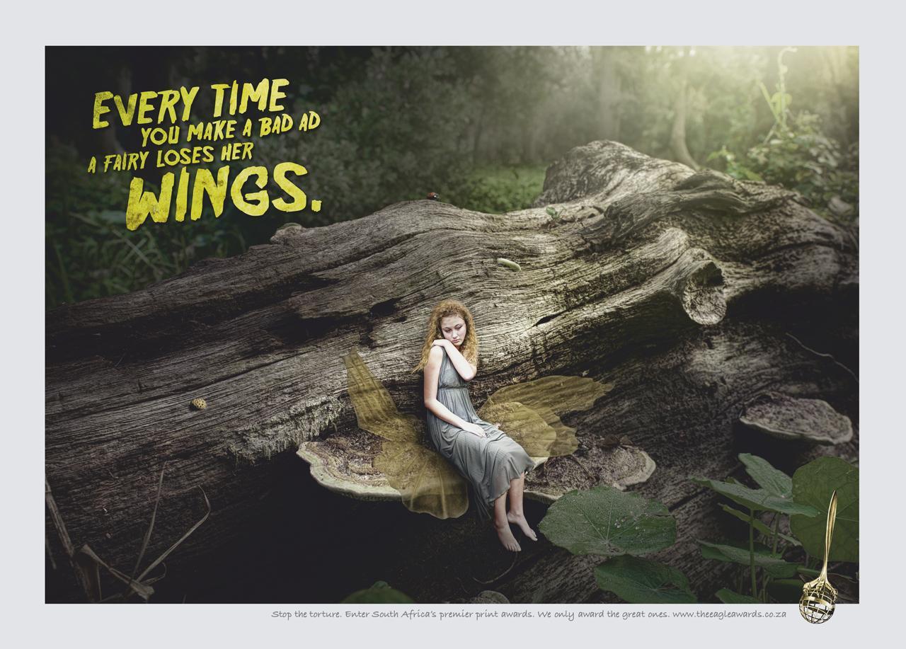 Eagle Print Awards Print Ad -  Fairy