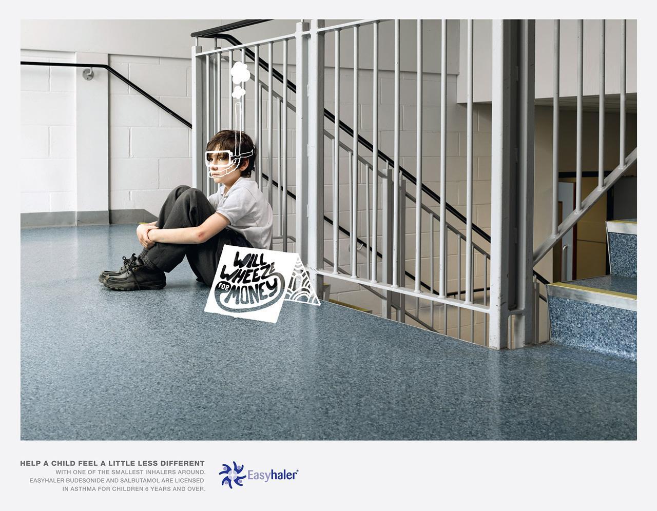 Easyhaler Print Ad -  Scuba
