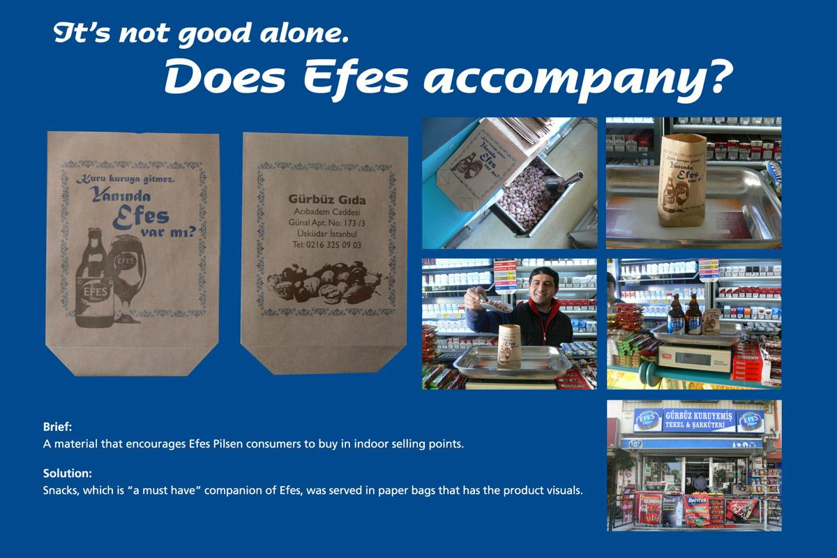 Efes Direct Ad -  Snacks