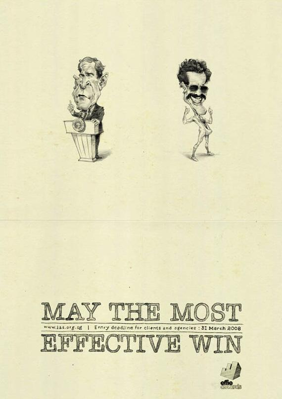 Effie Awards Print Ad -  Borat