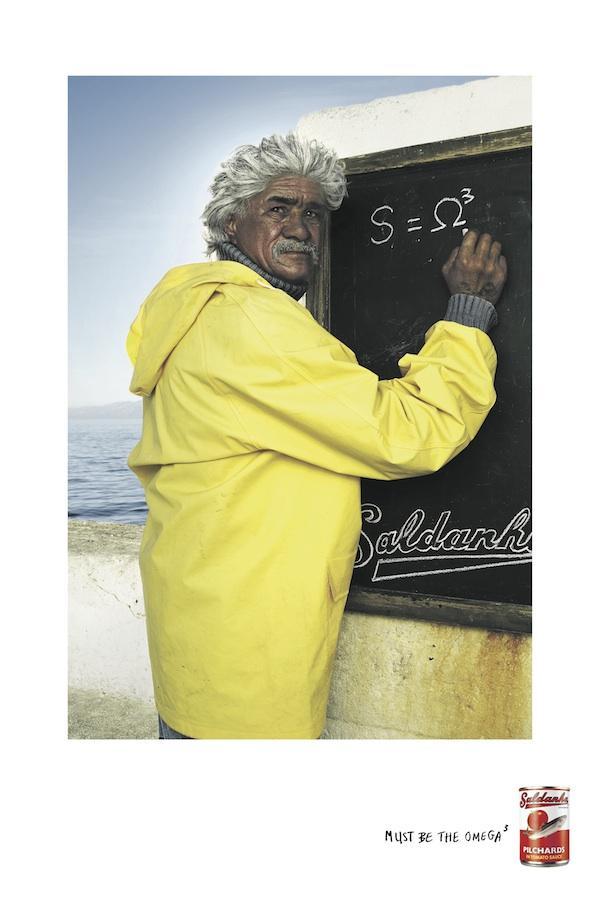 Saldanha Pilchards Print Ad -  Einstein