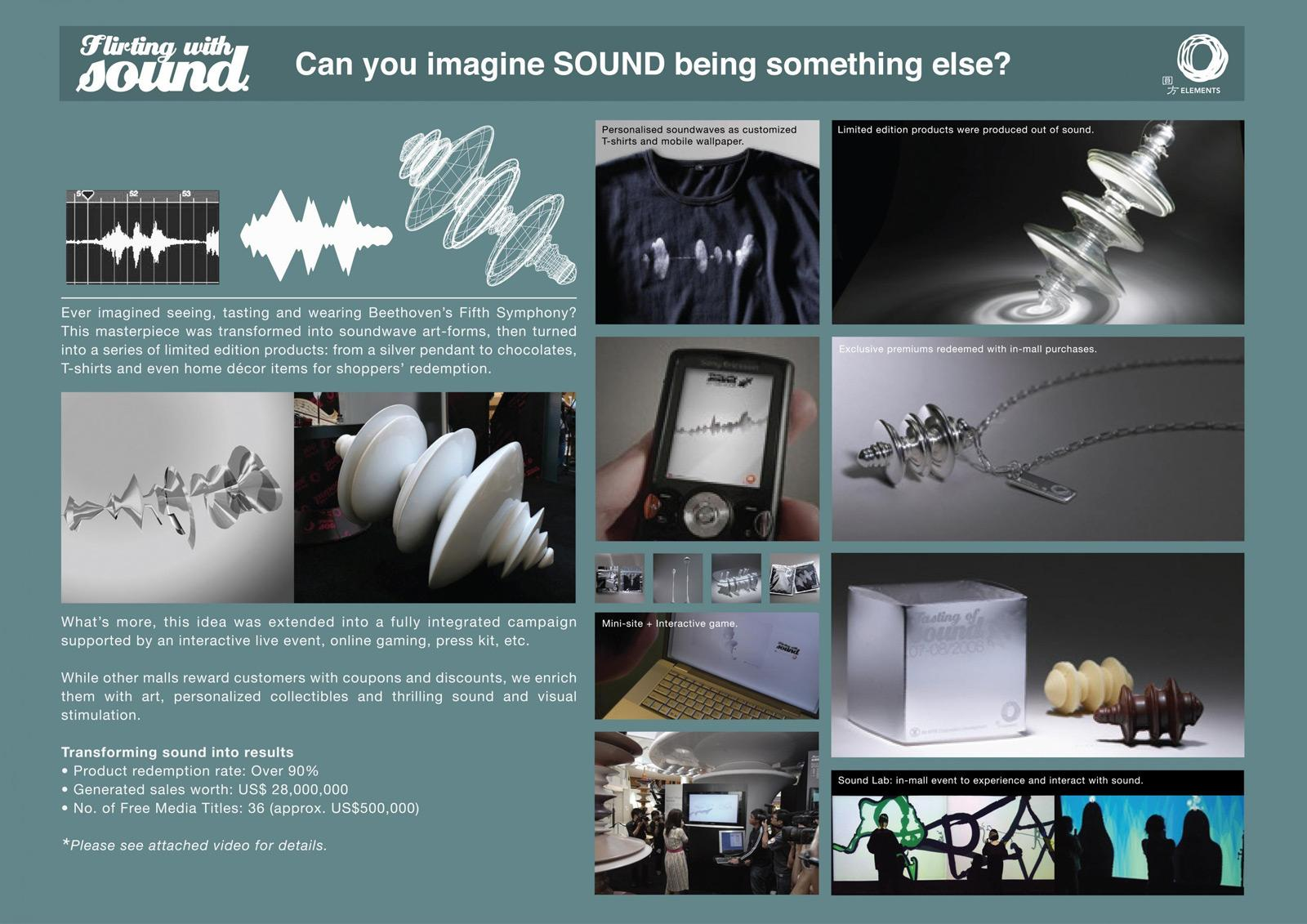 Elements Direct Ad -  Flirting with sound