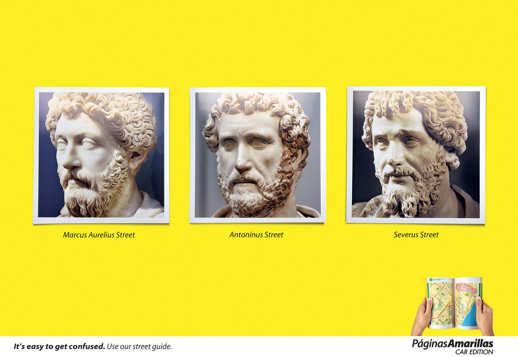 Yellow Pages Print Ad -  Emperors