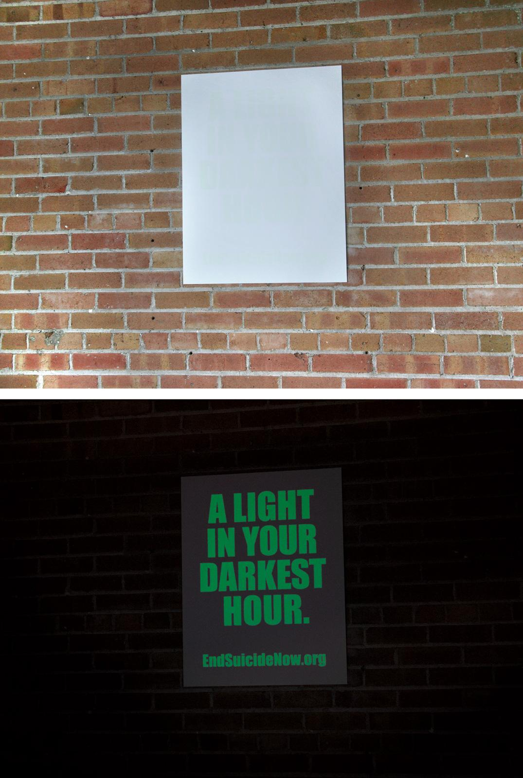 endsuicidenow.org Outdoor Ad -  Light