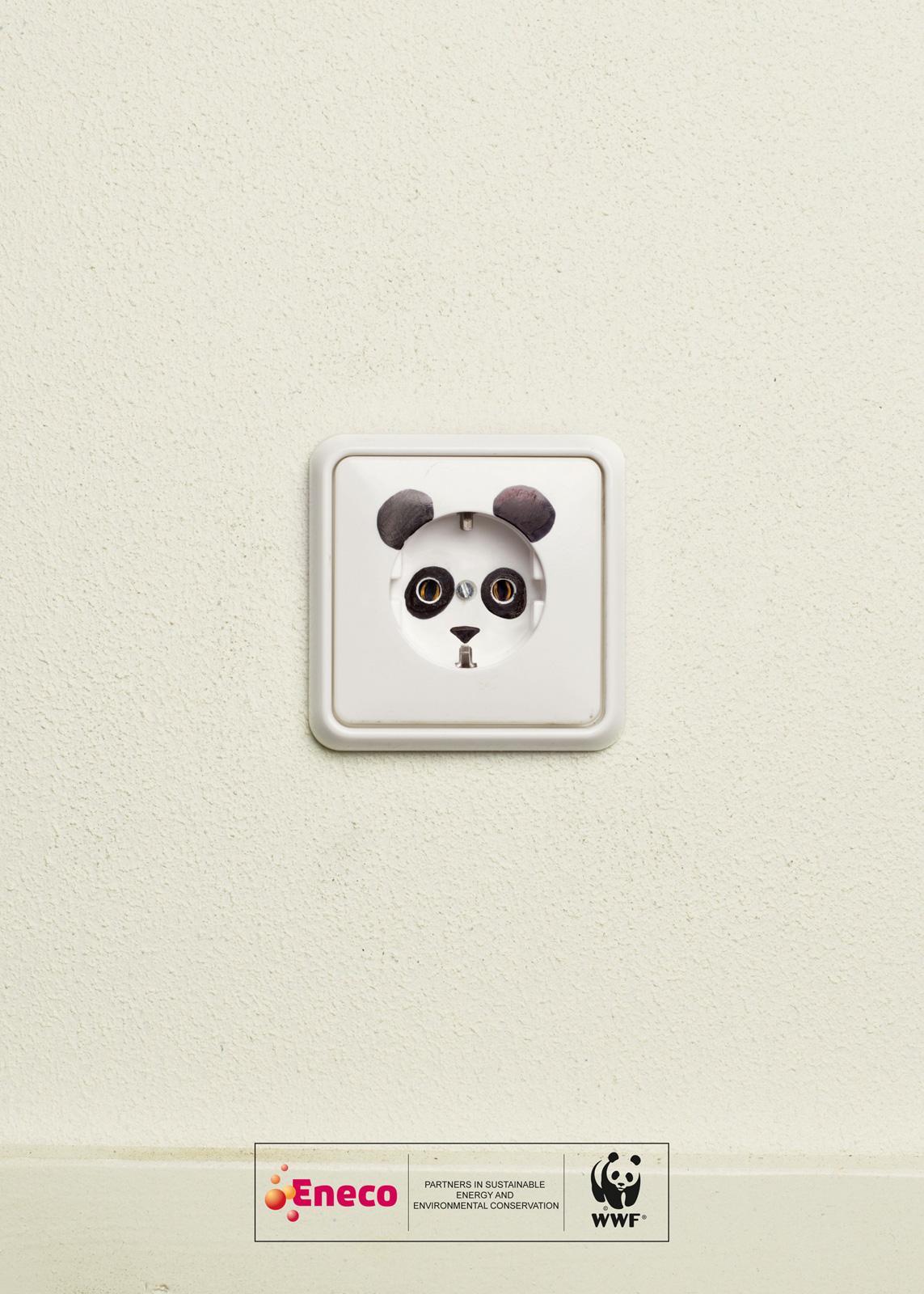 WWF Print Ad -  Wall socket
